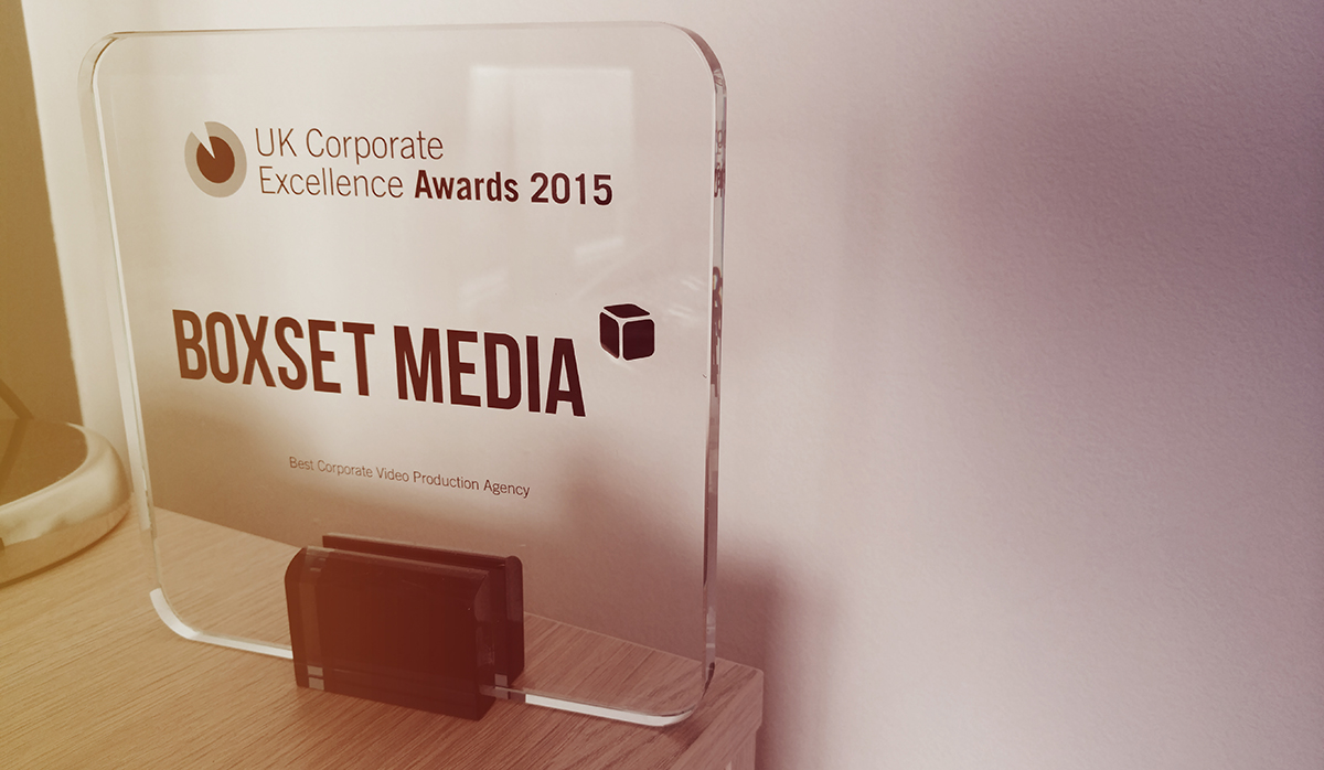 Our award for best video production agency