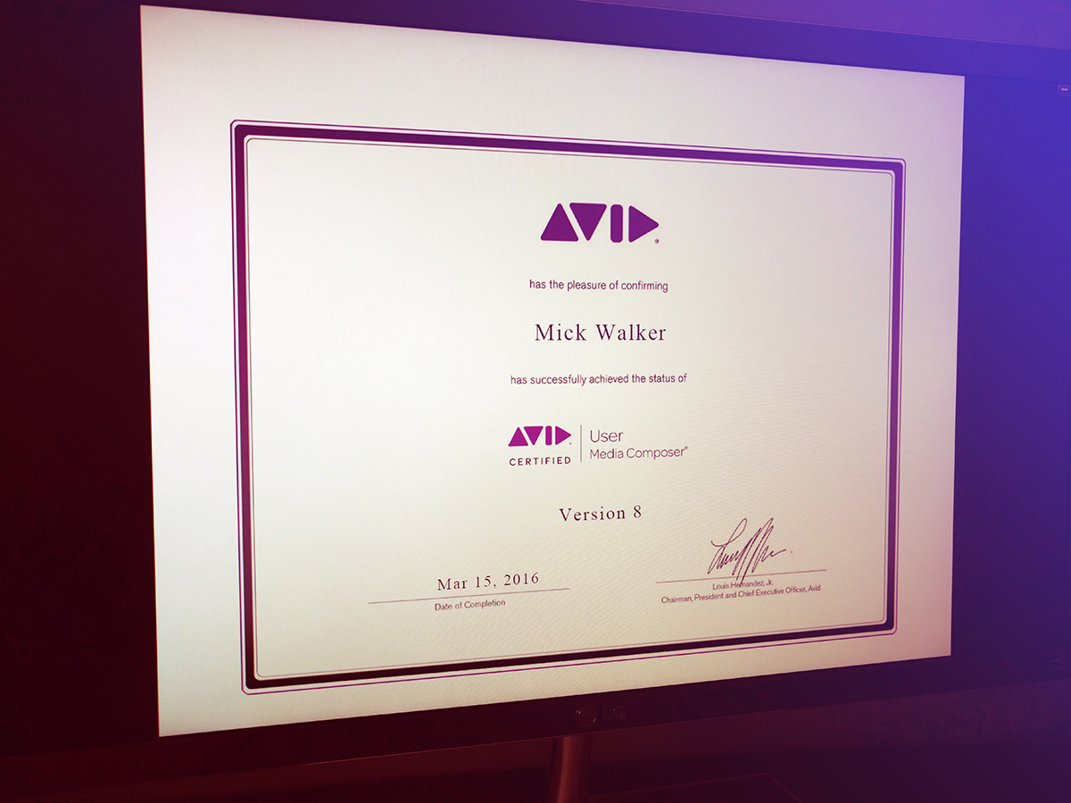 How Being An Avid Certified User Has Made Me A Better Video Editor